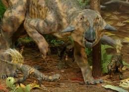 Палеонтологи нашли ясли динозавров вместе с няней