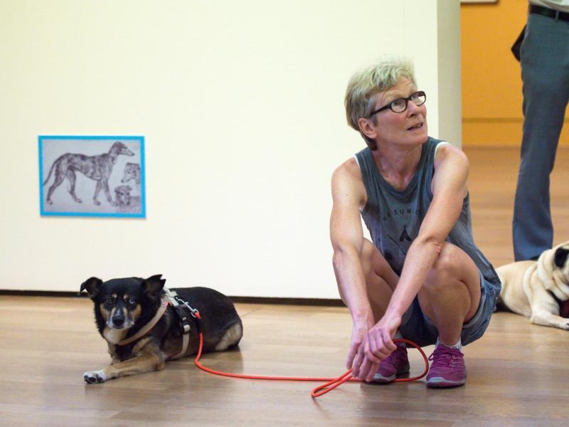 В Берлине собакам позволили посетить музей