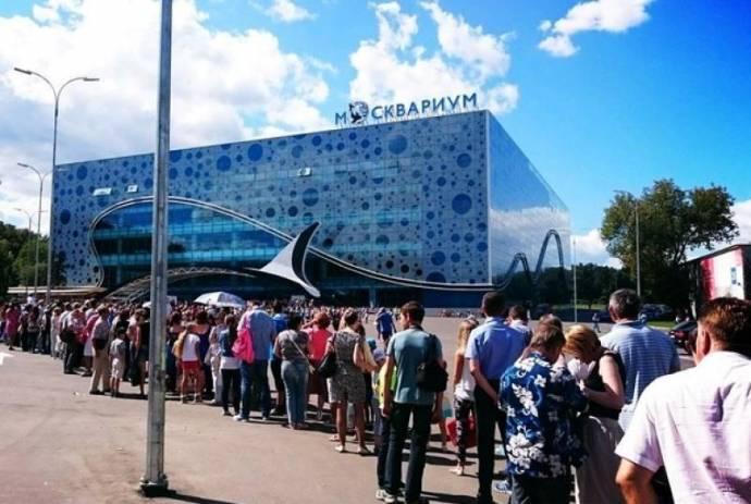 Москвариум - самый крупный океанариум в Европе